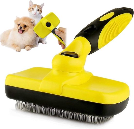 Ondervacht Kam - Borstel Voor Hond of Kat - Verwijderd Klitten en Voorkomt Haaruitval