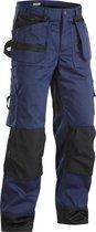 Blaklader Werkbroeken met kniestukken Marineblauw/ZwartNL:60 BE:54