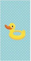 Clarysse Ducky - Strandlaken - 70x140 cm - Blauw
