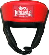 Jab Open Face Headguard - Synthetic Leather