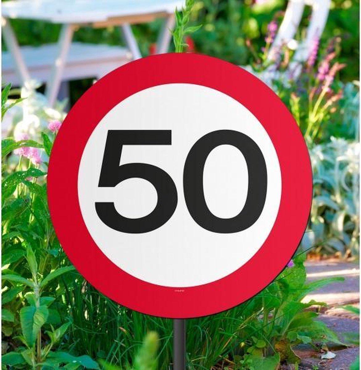 Tuinbord 50 jaar