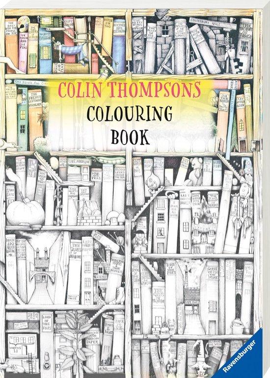 Afbeelding van Ravensburger Funtastic Colouring Book Colin Thompson - kleurboek voor volwassenen