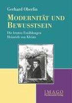 Modernitat Und Bewusstsein