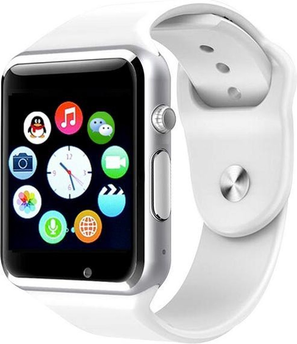 Smart Watch Android/IOS DexClock White/Silver