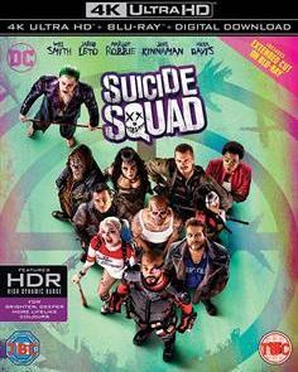 Suicide Squad (4K Ultra HD Blu-ray) (Import)-