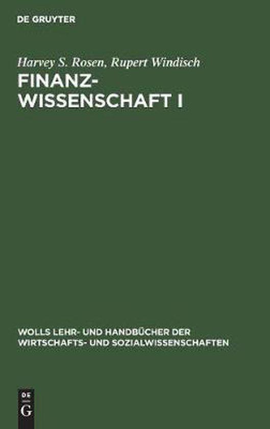 Boek cover Finanzwissenschaft I van Harvey S Rosen (Hardcover)