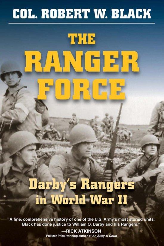Boek cover The Ranger Force van Robert W. Black (Onbekend)