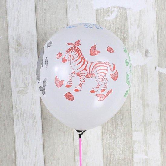 Ballonnen Dieren 8 stuks 30 cm