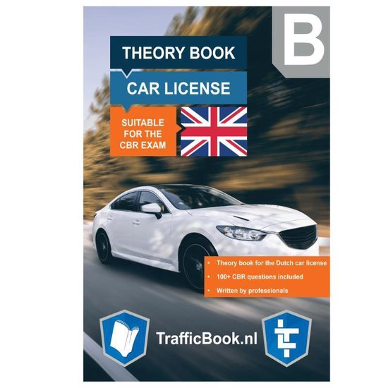 Boek cover Auto Theorieboek Engels 2021 (English) – Car Theory Book in English for Dutch Driving License van Leertheorie (Paperback)