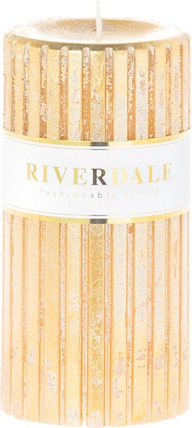 Riverdale Venetian - Kaars - 7x14cm - goud
