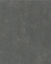 Nabucco uni zwart behang (vliesbehang, zwart)