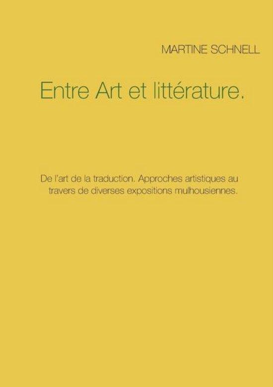 Entre Art et litterature.