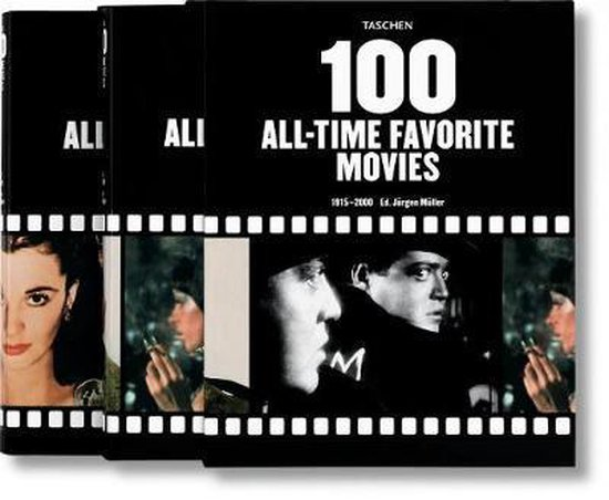 Cover van het boek '100 All-time favorite Movies'
