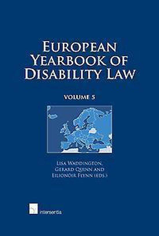 Boek cover European Yearbook of Disability Law van Lisa Waddington (Hardcover)