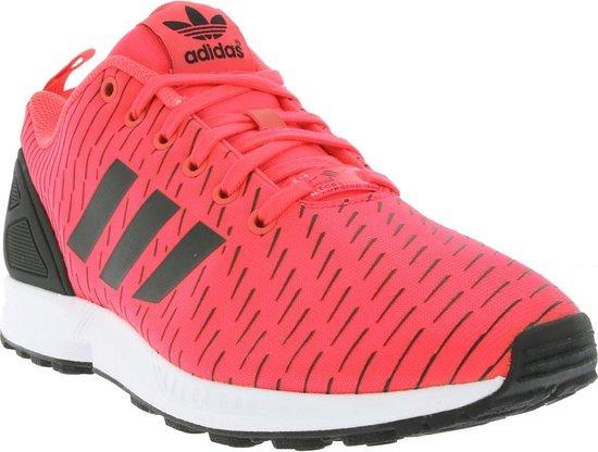 bol.com | Adidas Zx Flux Heren Sneakers Roze/zwart Maat 41 1/3