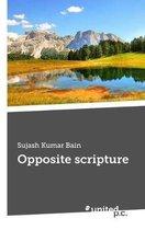 Opposite scripture
