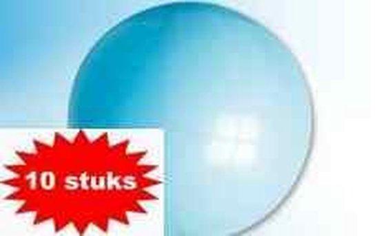 ballon 24 inch 60 cm lichtblauw 10 stuks