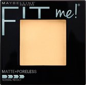 Maybelline Fit Me Matte & Poreless - 105 Natural - Gezichtspoeder