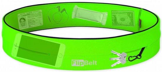 Flipbelt Classic Groen - Running belt - Hardlopen - M