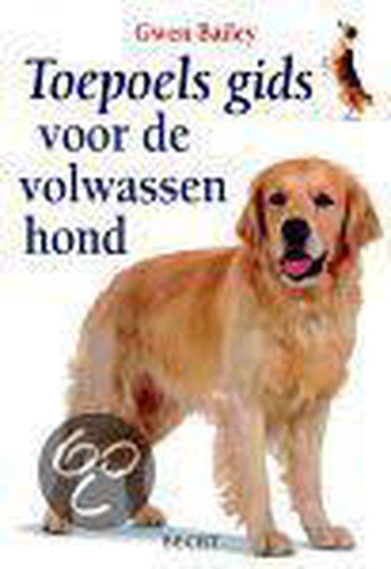 Cover van het boek 'Toepoels gids voor de volwassen hond'