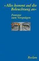 Boek cover Fontane zum Vergn�gen van Theodor Fontane