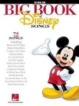 Boek cover The Big Book of Disney Songs (Violin) van Hal Leonard Corp.