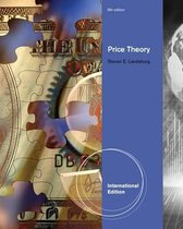 Boek cover Price Theory and Applications, International Edition (with Economic Applications, InfoTrac 2-Semester Printed Access Card) van Steven Landsburg