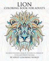 Lion Coloring Book for Adults