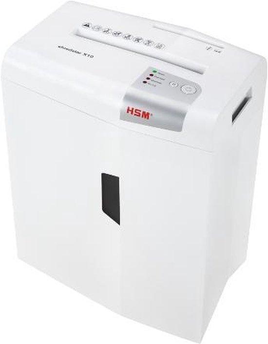 HSM Papiervernietiger X10 - Shredstar x10 -10 vel invoer A4 -