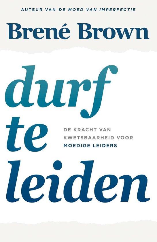Boek cover Durf te leiden van Brené Brown (Onbekend)