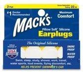 Macks - Pillow Soft Silicone  - Oordoppen - 2 paar