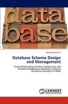 Database Schema Design and Management