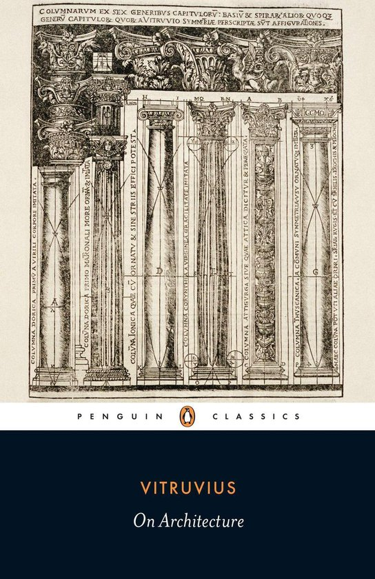 Boek cover On Architecture van Vitruvius (Paperback)