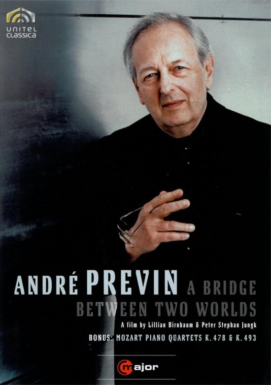 Cover van de film 'Andre Previn, Renee Fleming,Farrow - A Bridge Between Two Worlds'
