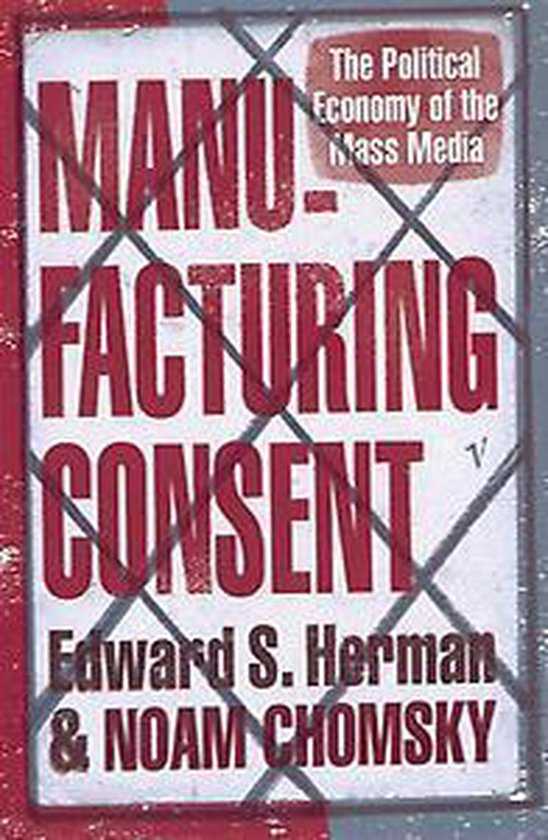 Boek cover Manufacturing Consent van Noam Chomsky (Paperback)