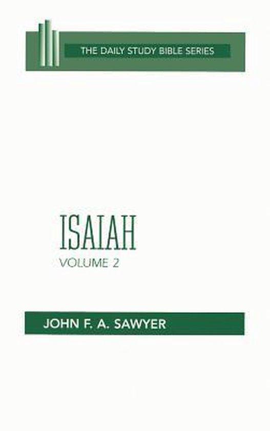 Boek cover Isaiah Vol 2 H/B Dsb van Sawyer (Hardcover)