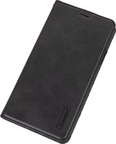 Apple iPhone XR - Zwart PU leer book case hoesje