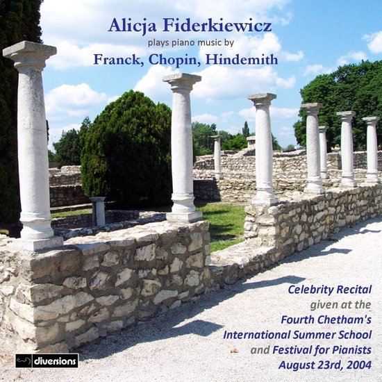 Alicja Fiderkiewicz Plays Piano Music By Franck, C