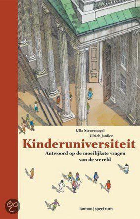 Cover van het boek 'Kinderuniversiteit'