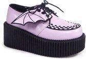Demonia Creepers -38 Shoes- CREEPER-205 US 8 Roze