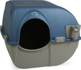 Omega Paw Zelfreinigende kattenbak M - Blauw