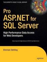 Pro ASP.NET for SQL Server