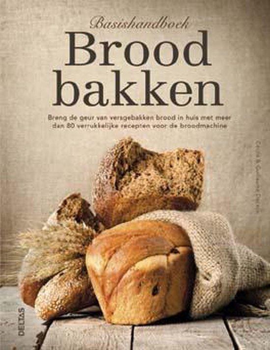 Boek cover Basishandboek brood bakken van Cécile Decaux