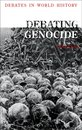 Boek cover Debating Genocide van Dr. Lisa Pine (Onbekend)