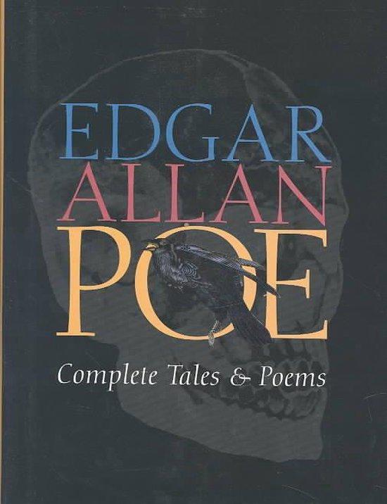 Boek cover Edgar Allan Poe Complete Tales and Poems van Edgar Allan Poe (Hardcover)
