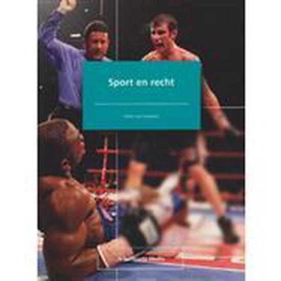 Sport en recht - H.T. van Staveren |