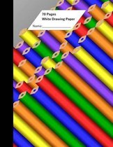 Omslag White Drawing Paper (70 Sheets) Pencil Cover