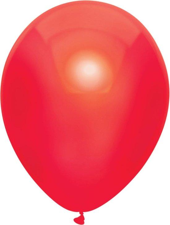 Ballonnen Metallic Rood (10ST)
