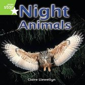 Rigby Star Independent Year 1 Green Non Fiction Night Animals Single