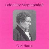 Lebendige Vergangenheit: Carl Hauss
